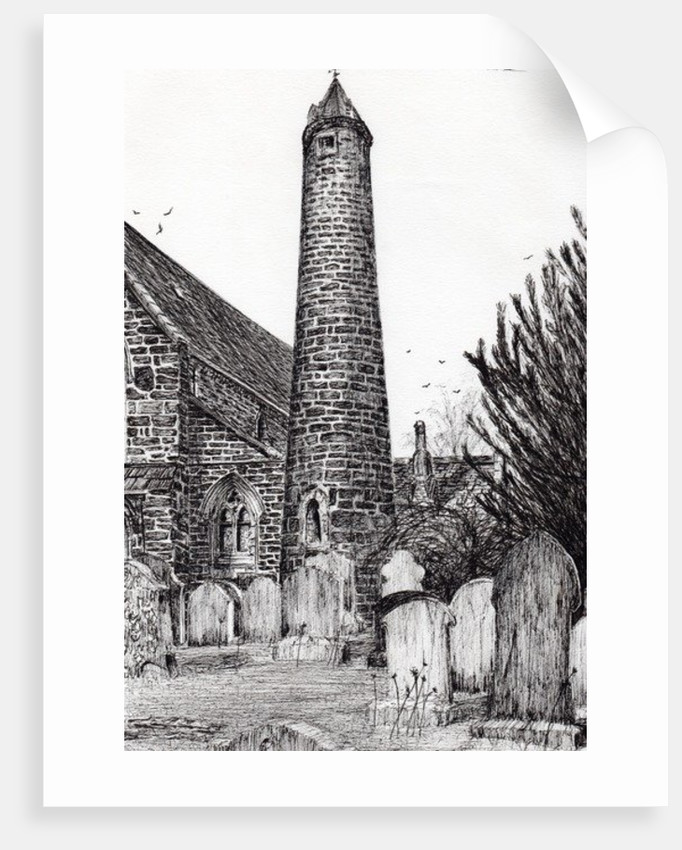 Brechin Round Tower,Scotland by Vincent Alexander Booth