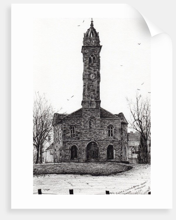 Lorne&Lowland parish church by Vincent Alexander Booth