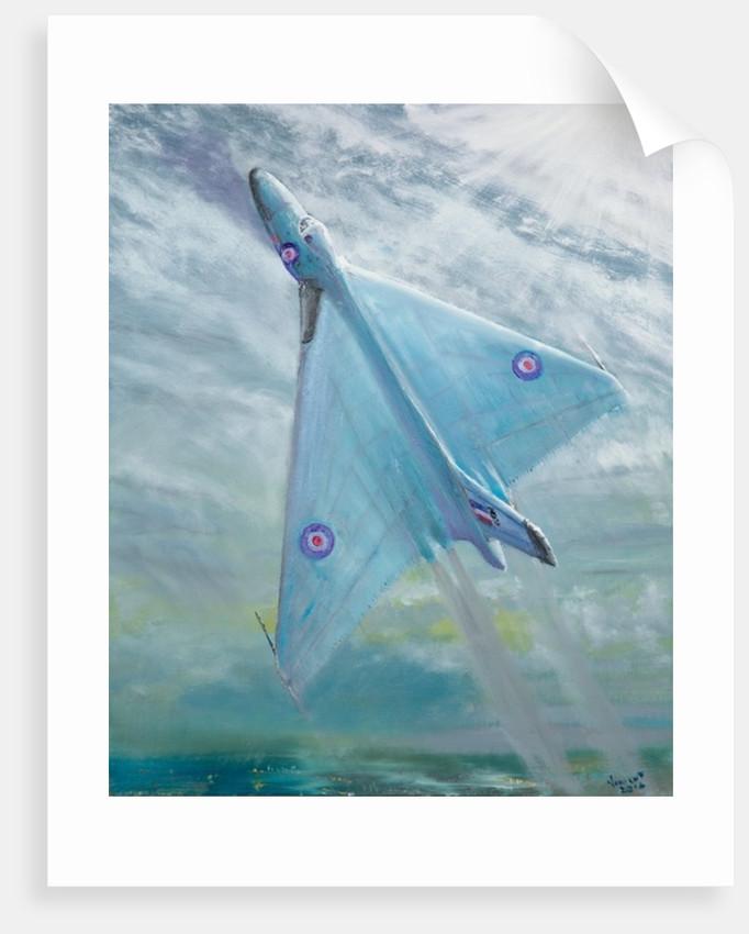 Avro Vulcan B1 Night flight by Vincent Alexander Booth