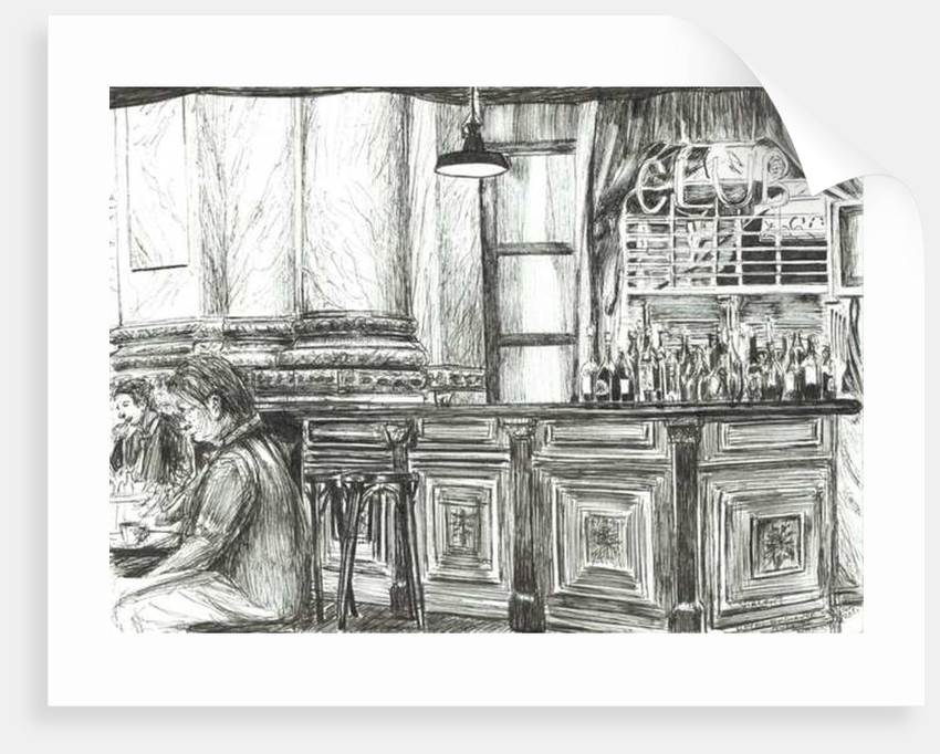 Cafe at the Royal Exchange, Manchester by Vincent Alexander Booth