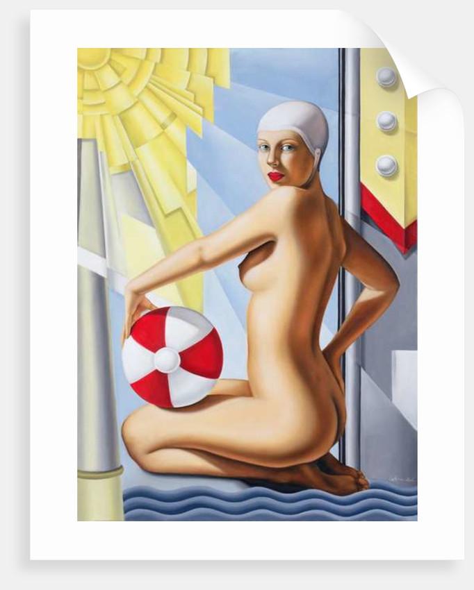 Sunworshipper I by Catherine Abel