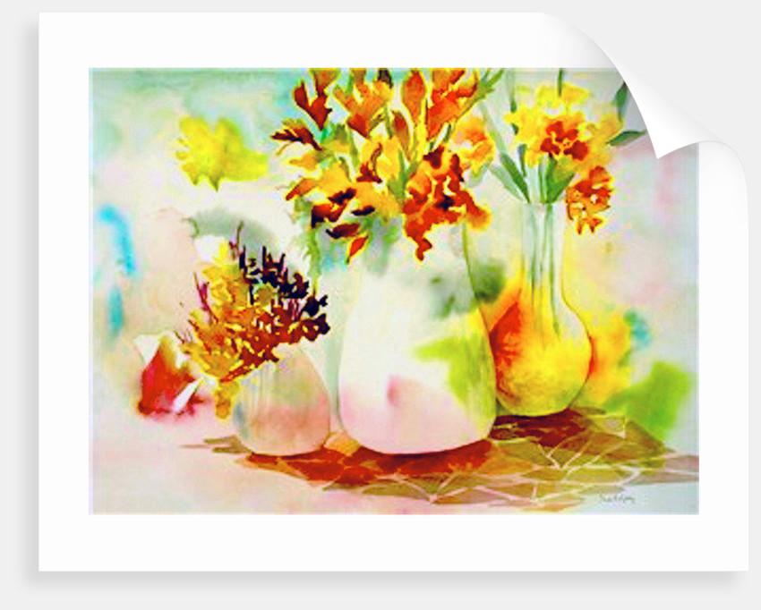 three vases by Neela Pushparaj