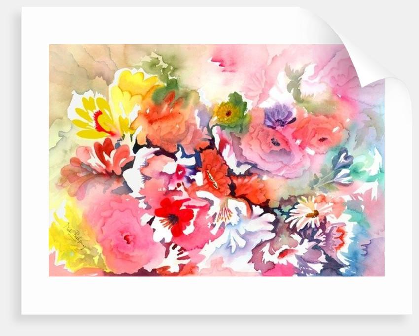 Endless blossoms by Neela Pushparaj