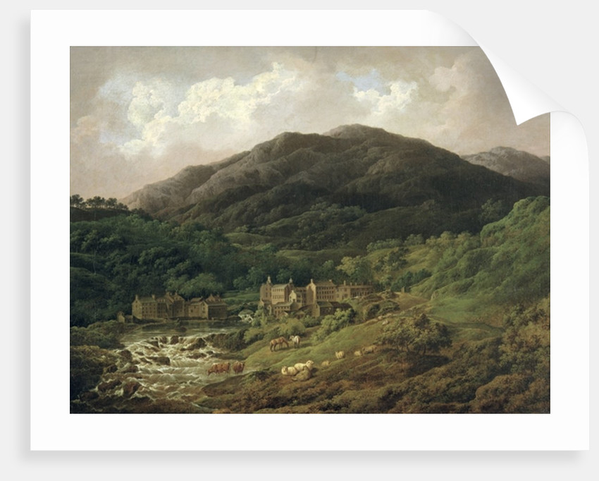 Backbarrow Cotton Mill by Charles Towne