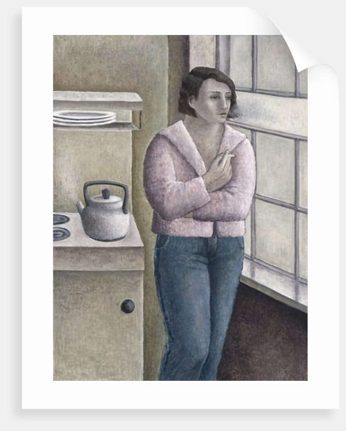 Woman Smoking by Ruth Addinall