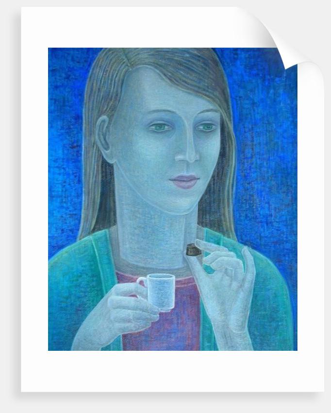 Girl with Chocolate by Ruth Addinall