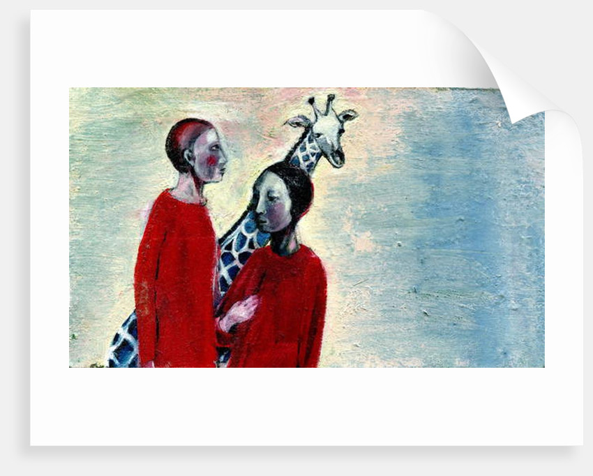 Giraffe Day, 2019 by Gigi Sudbury