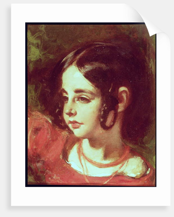 Head of a Girl by William Etty