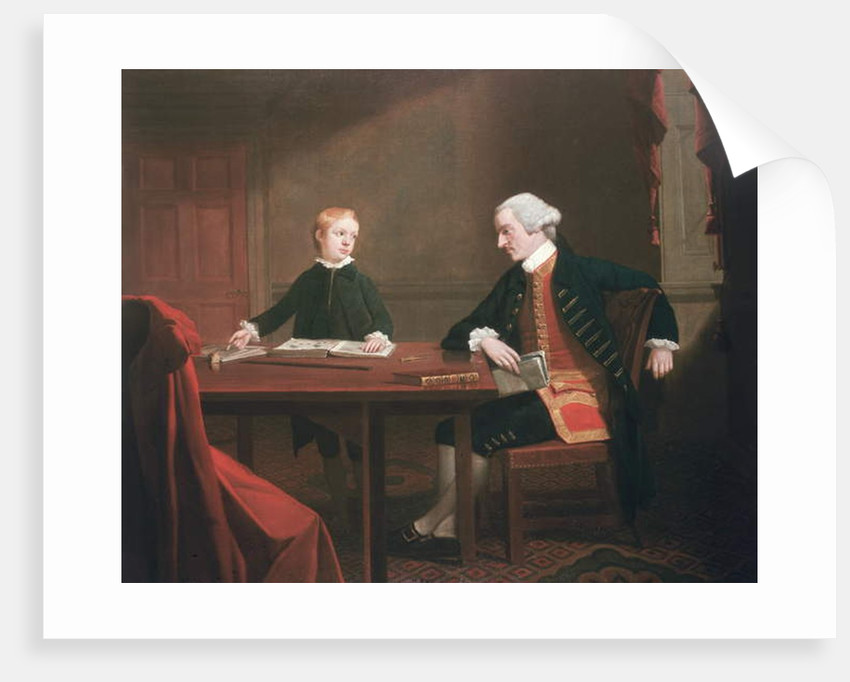 Samuel Smith and his Son William, c.1770 by Mason Chamberlin