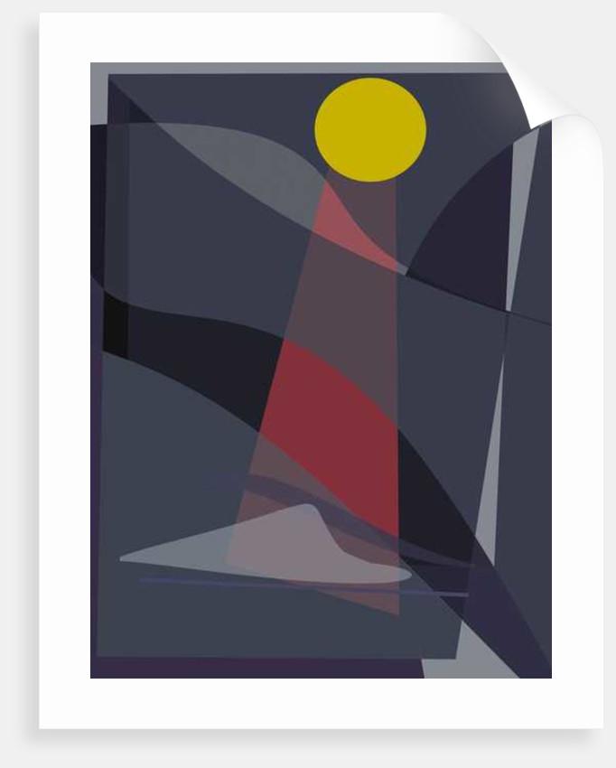 Moon, 2016 by Alex Caminker