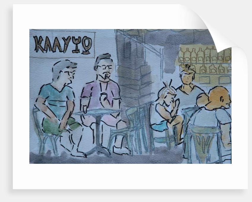 Calypso bar, Skyros by Cosima Duggal