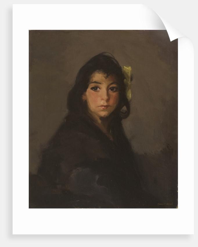 The Gypsy Girl, 1912 by Robert Cozad Henri