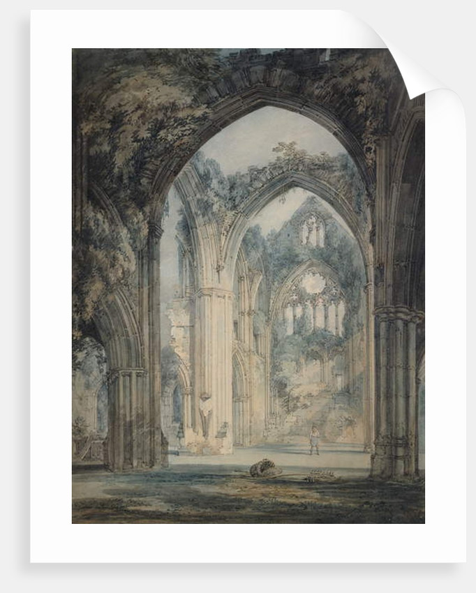 Transept of Tintern Abbey, Monmouthshire, c.1794 by Joseph Mallord William Turner