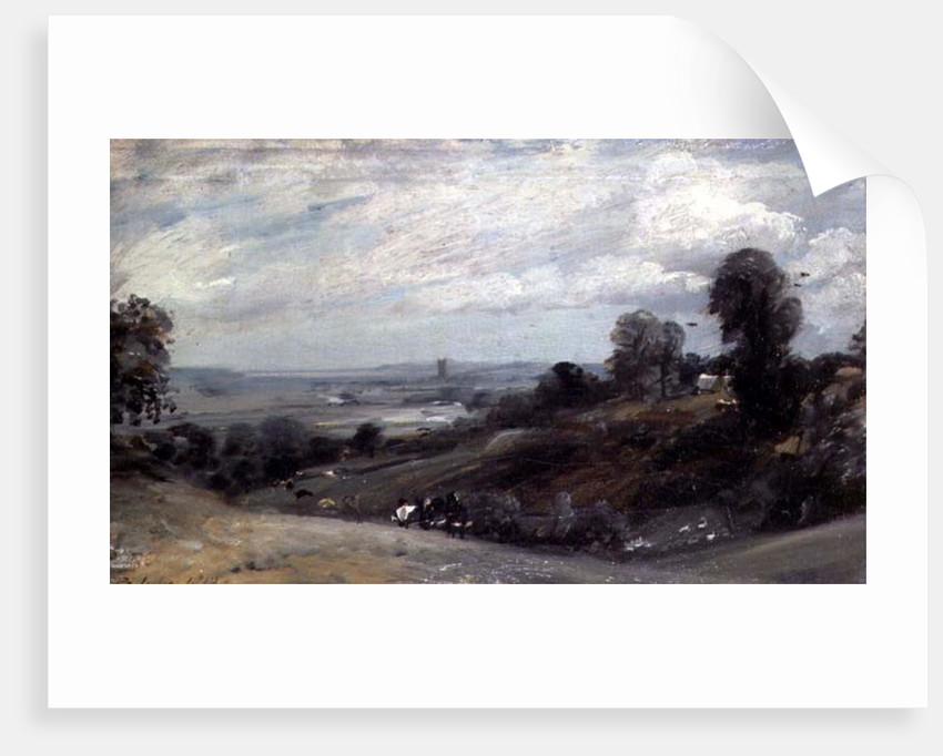 Dedham Vale from Langham, 19th century by John Constable