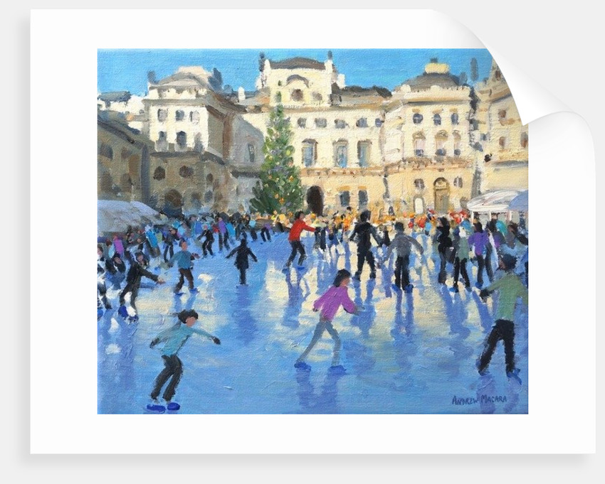 Christmas, Somerset House by Andrew Macara