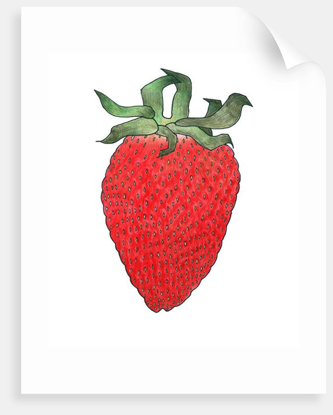 Strawberry 1, 2013 by Faisal Khouja