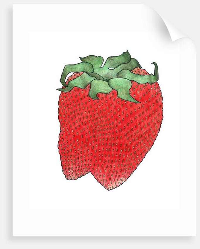 Strawberry 2, 2013 by Faisal Khouja
