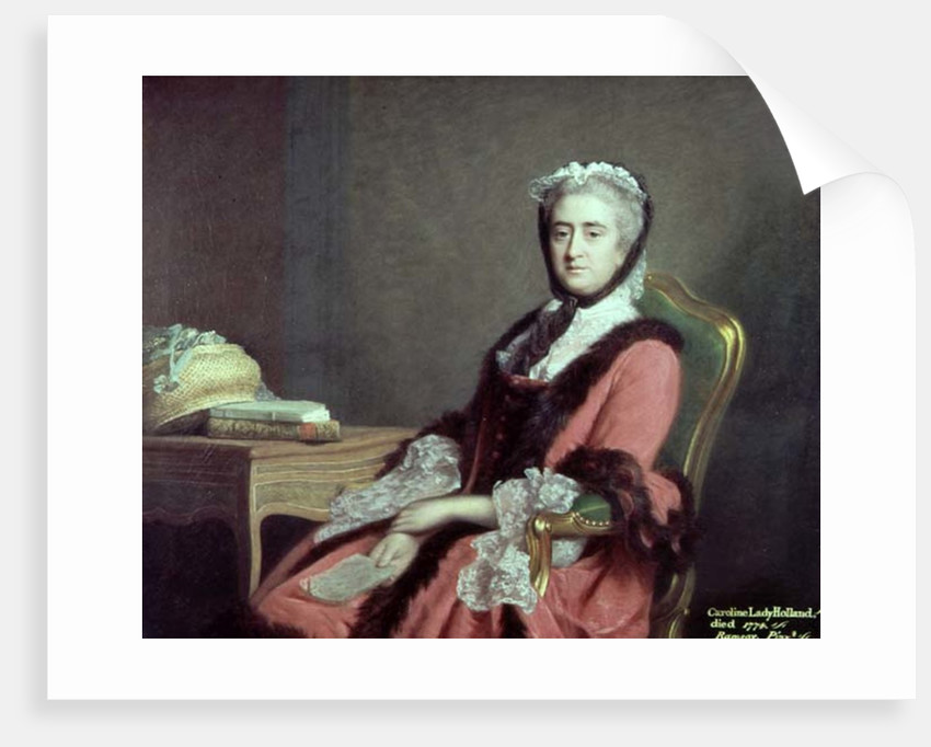 Lady Holland by Allan Ramsay