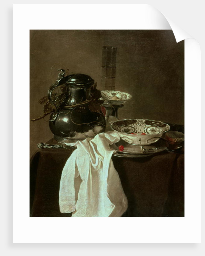 Pewter, China and Glass by Jan Jansz Treck