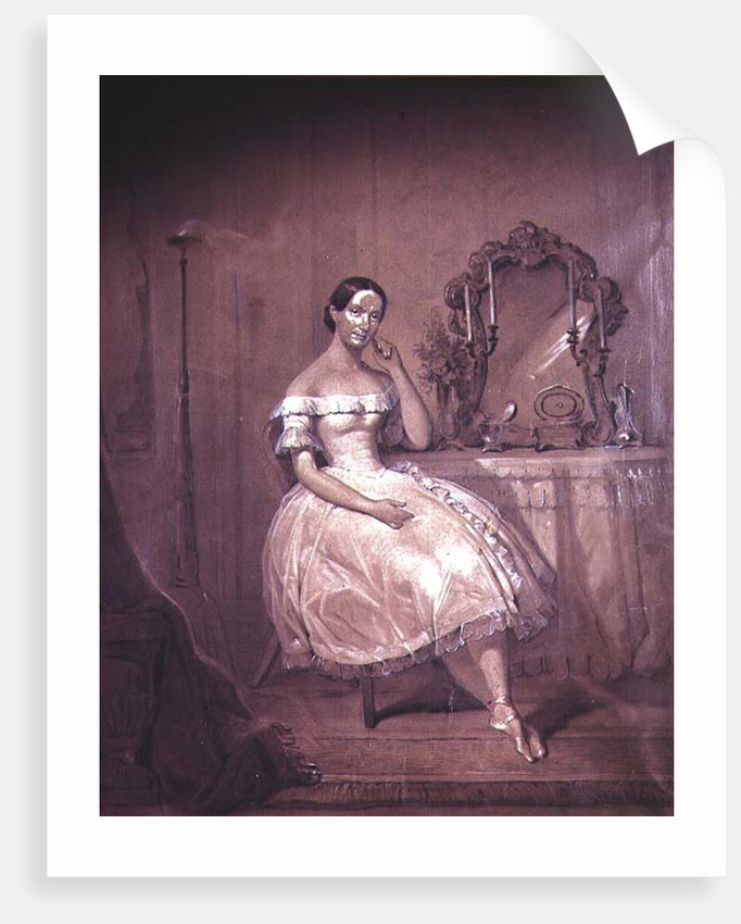 Ballerina in 19th Century Ballet by Anonymous