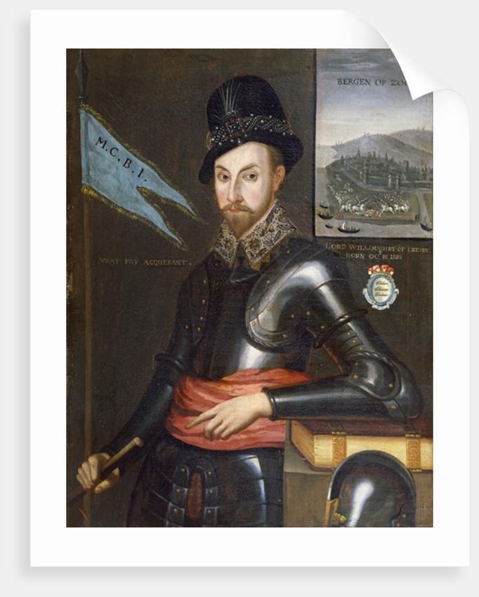 Portrait of Peregrine Bertie, 11th Baron Willoughby de Eresby by English School