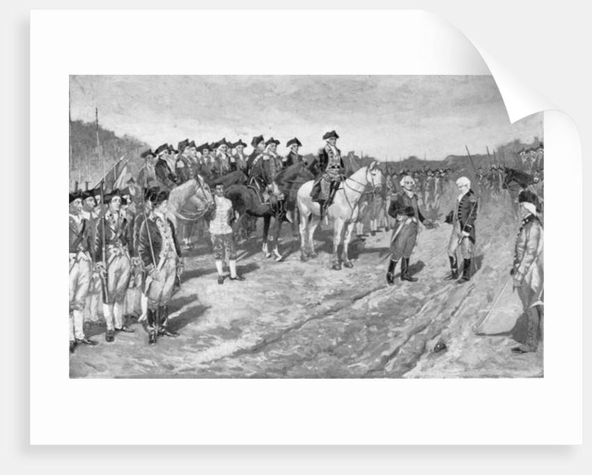 The Surrender of Cornwallis at Yorktown by Howard Pyle