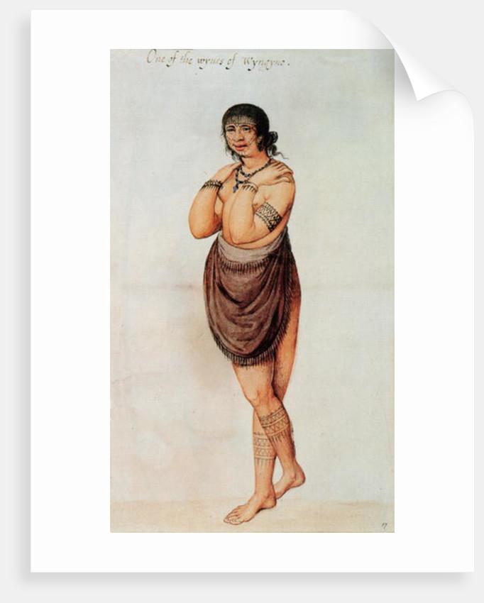 Indian Woman by John White
