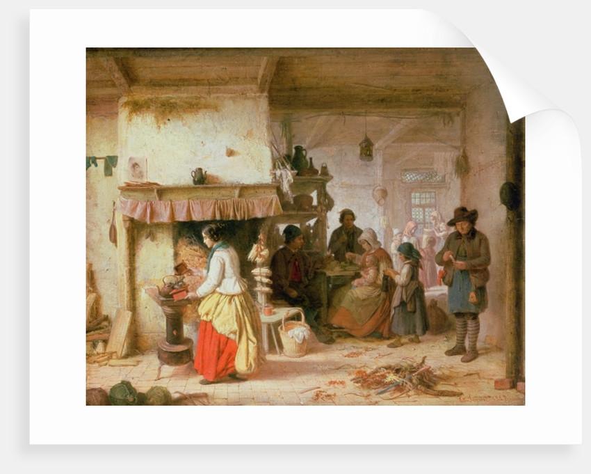 Coffee Time by Eduard Gustav Seydel