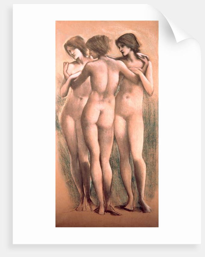The Three Graces, c.1885, by Sir Edward Coley Burne-Jones