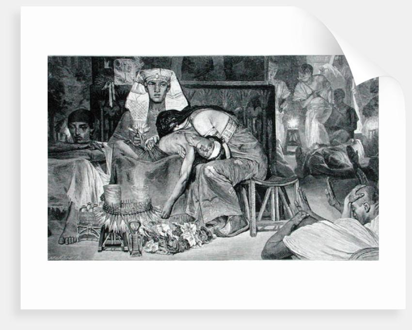 The Death of the Firstborn by Carl Friedrich Heinrich Werner