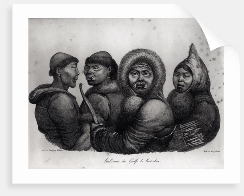 Inhabitants of the Gulf of Kotzebue by Ludwig Choris