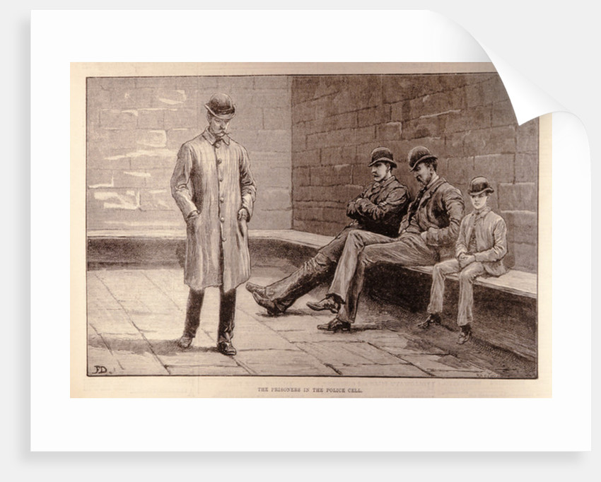 The State of Ireland: The Prisoners in the Cell by English School