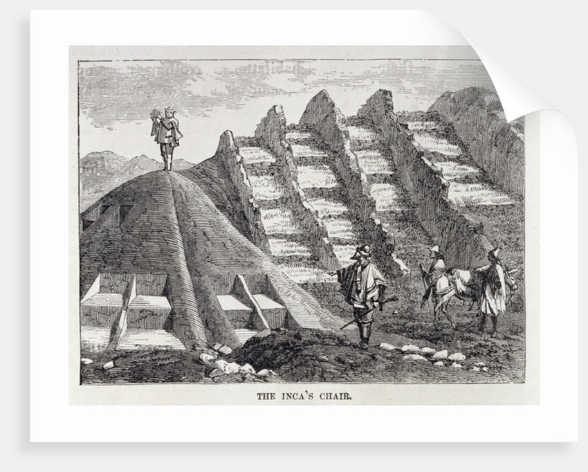 The Inca's Chair by English School
