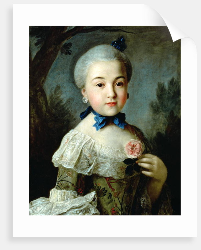 Portrait of Princess Charlotte Sophia, wife of King George III by Nathaniel Dance-Holland