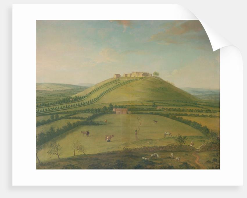 Hoghton Tower by Arthur Devis