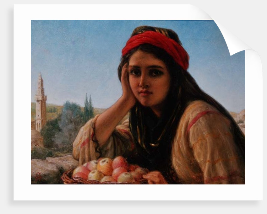 Syrian Fruit Seller by William Gale or Gaele
