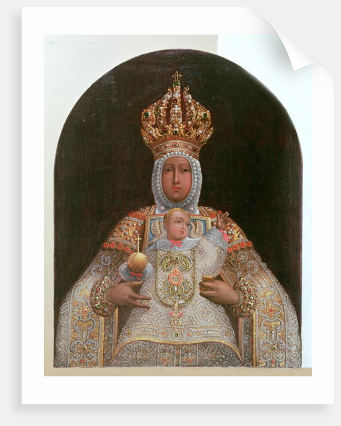 Madonna and Child, School of Cusco by Anonymous