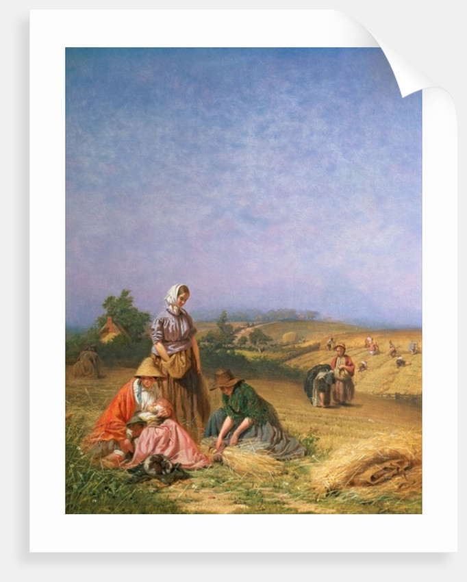 Gleaning by George Elgar Hicks