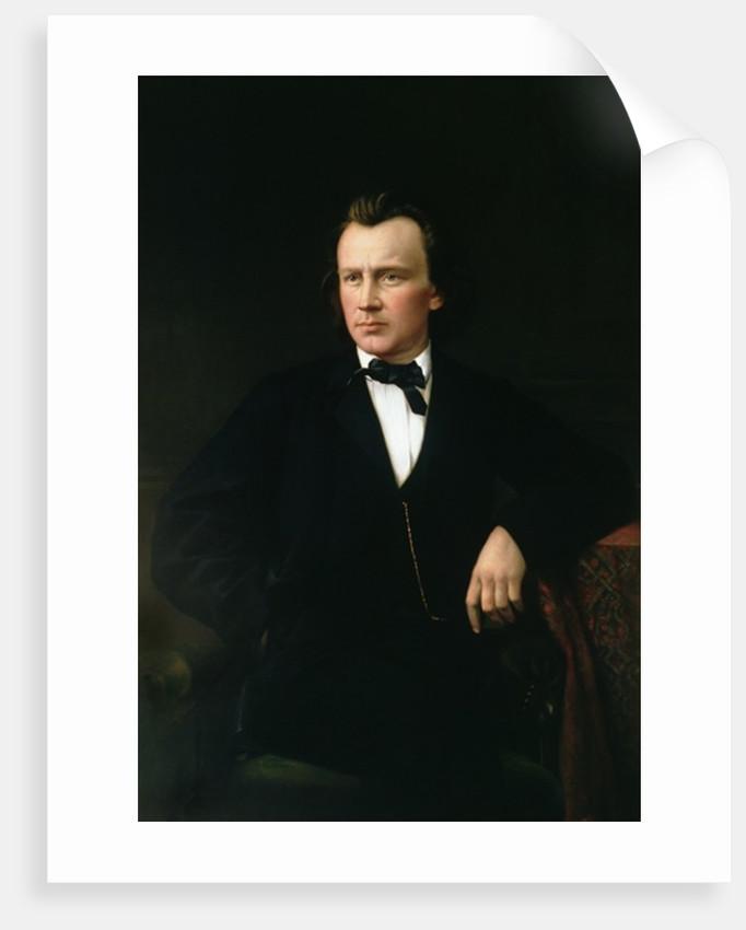 J. Brahms by Karl von Jagemann