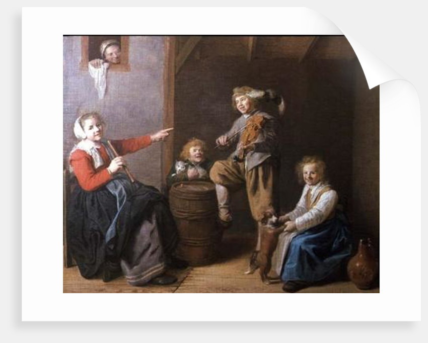 The Musical Party, 17th century by Jan Miense Molenaer
