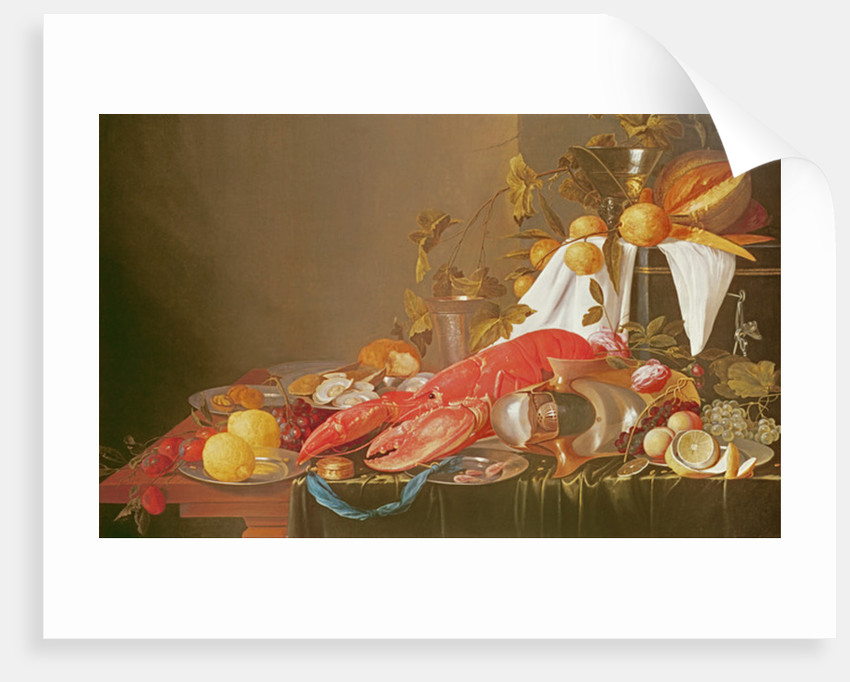 Banquet Still Life by Joris van Son