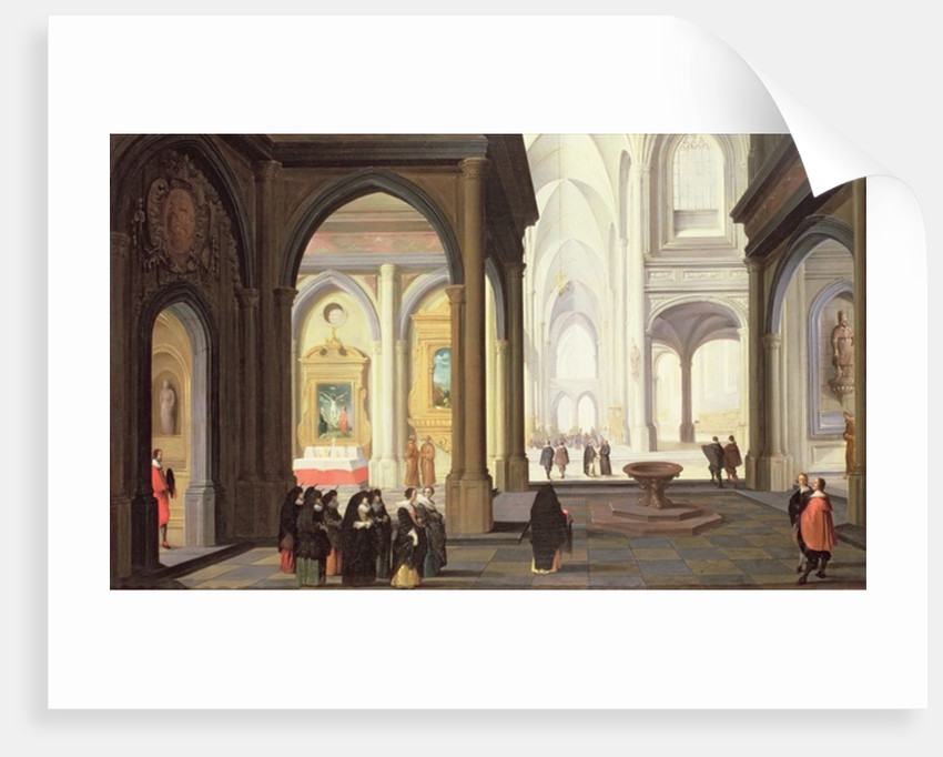 Church Interior by Antoni van Dalen