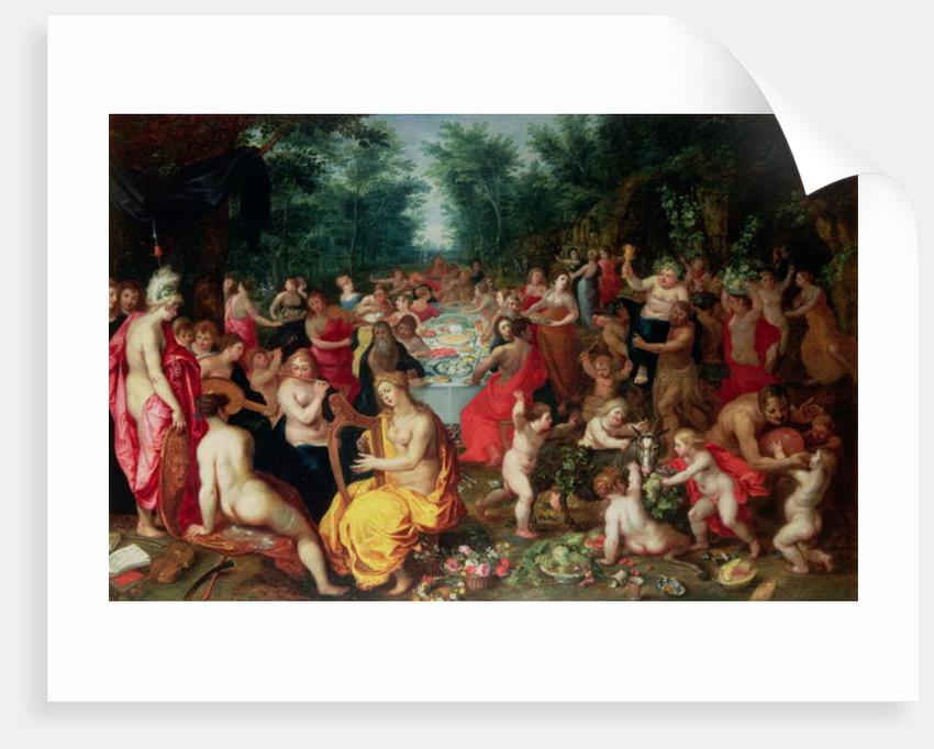 Feast of the Gods by Hendrik van the Elder Balen