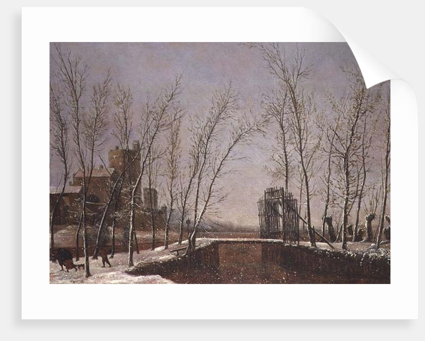 The Snowfall by Salomon Rombouts