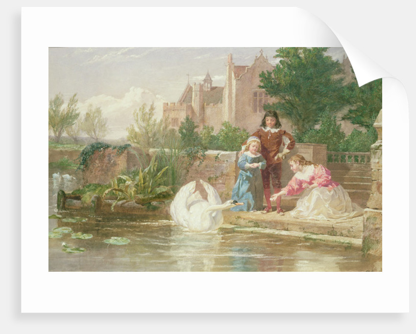 The Children of Charles I by Frederick Goodall