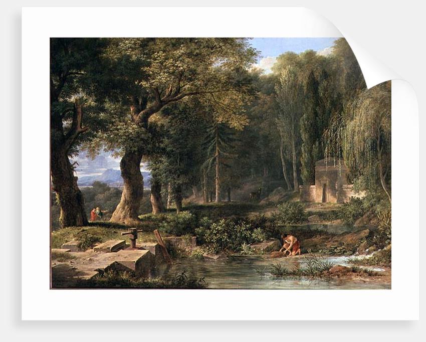 Classical landscape by Pierre Henri de Valenciennes