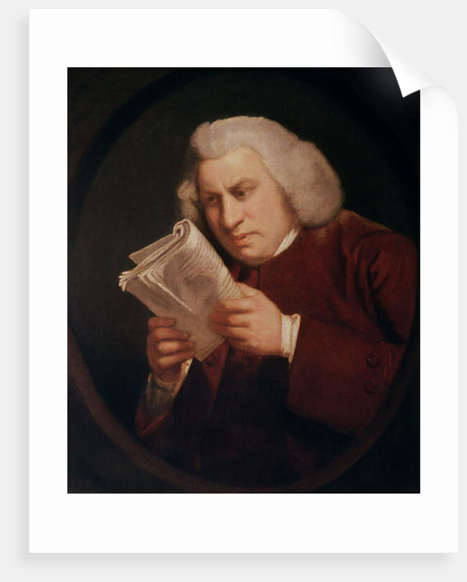 Dr. Samuel Johnson by Sir Joshua Reynolds
