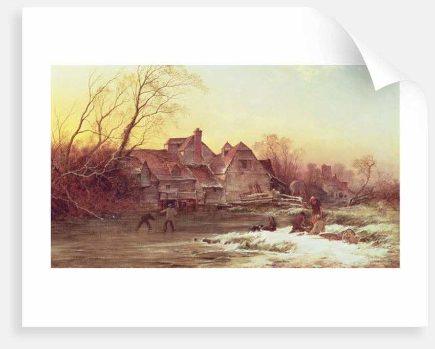 Winter Scene by Philips Wouwermans or Wouwerman