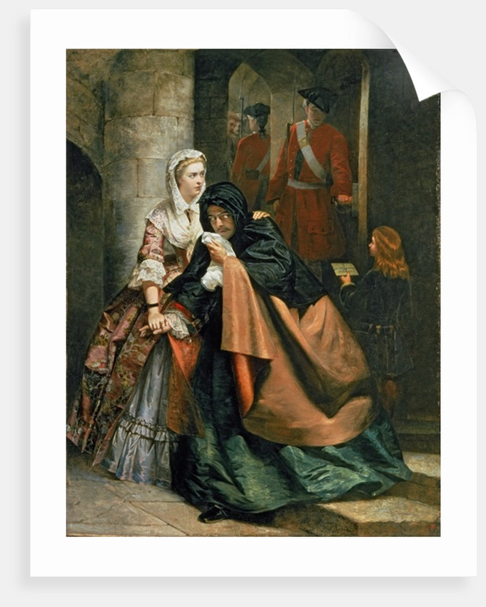 Lord Nithsdale, Escape from the Tower by Emily Mary Osborn