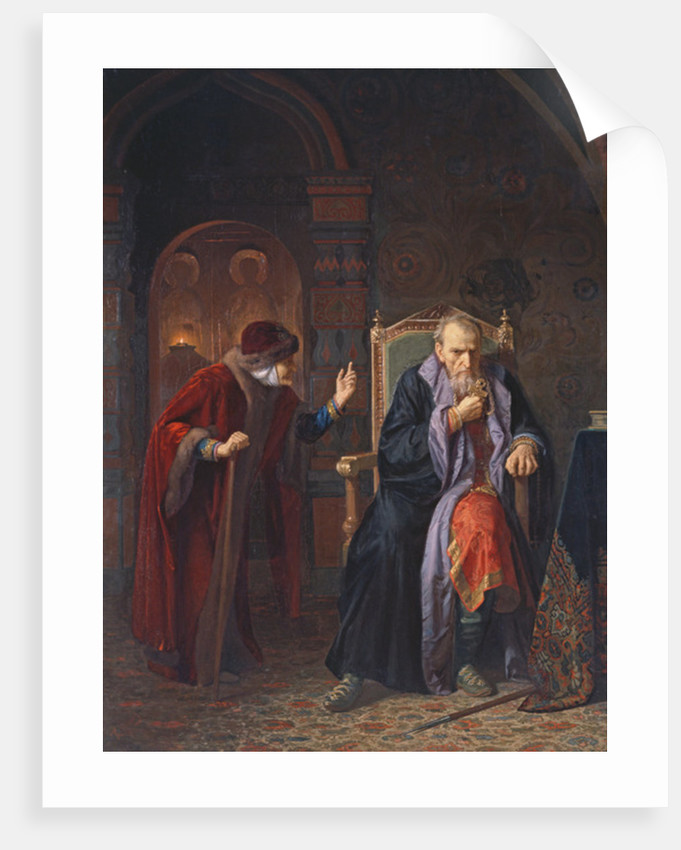 Tsar Ivan IV the Terrible and his Wet Nurse by Karl Gottlieb Wenig